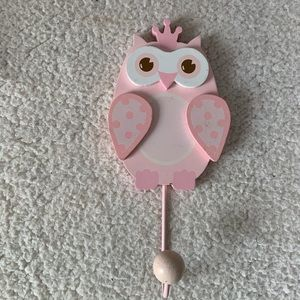 Hobby Lobby Pink Owl Decorative Hanging Wall Decal